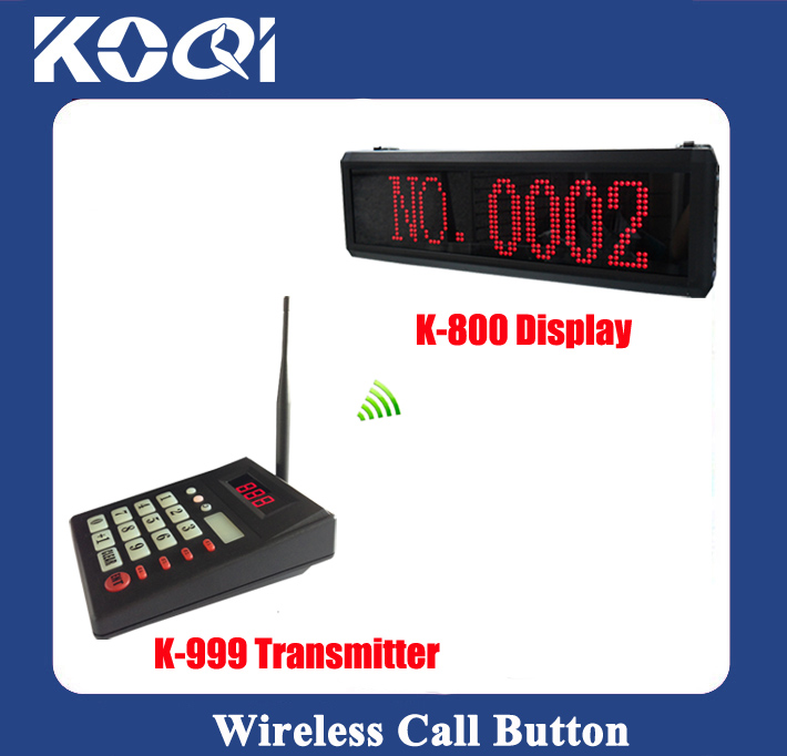 Wireless Queue Call System K-999+800