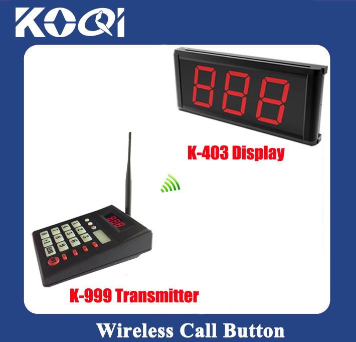Wireless Queue Call System K-999+403