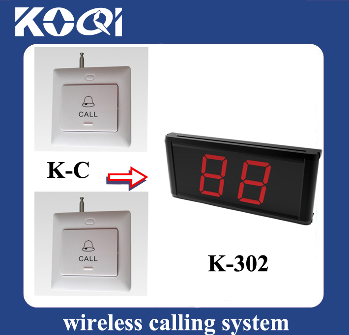 Wireless Calling System K-302+C