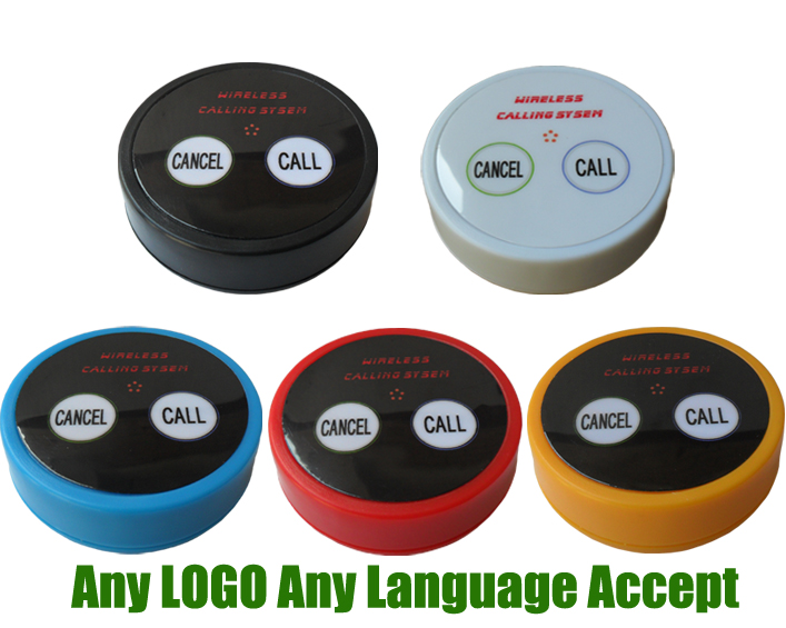 Wireless Calling System Call Button K-D2