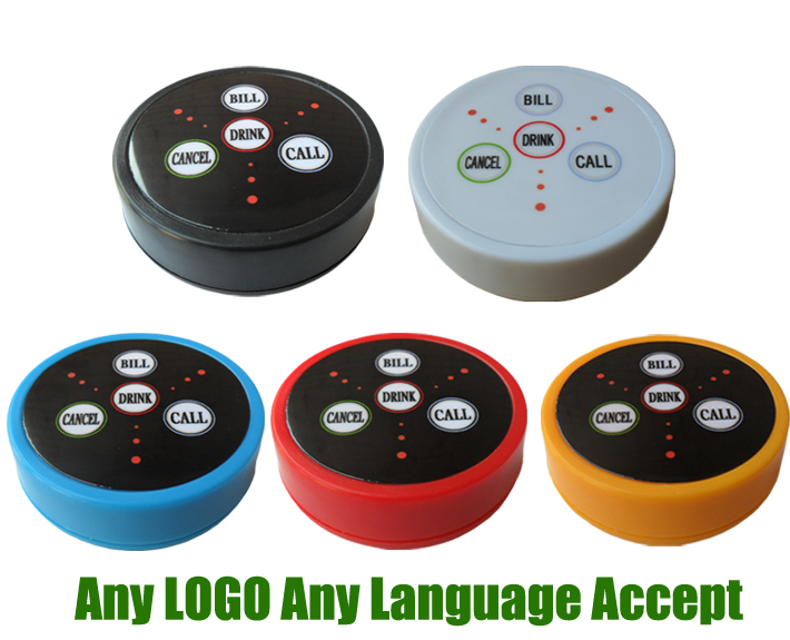 Wireless Calling System Call Button K-D4