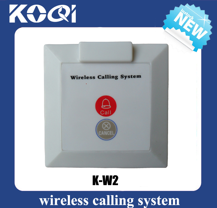 Wireless Calling System Call Button K-W2