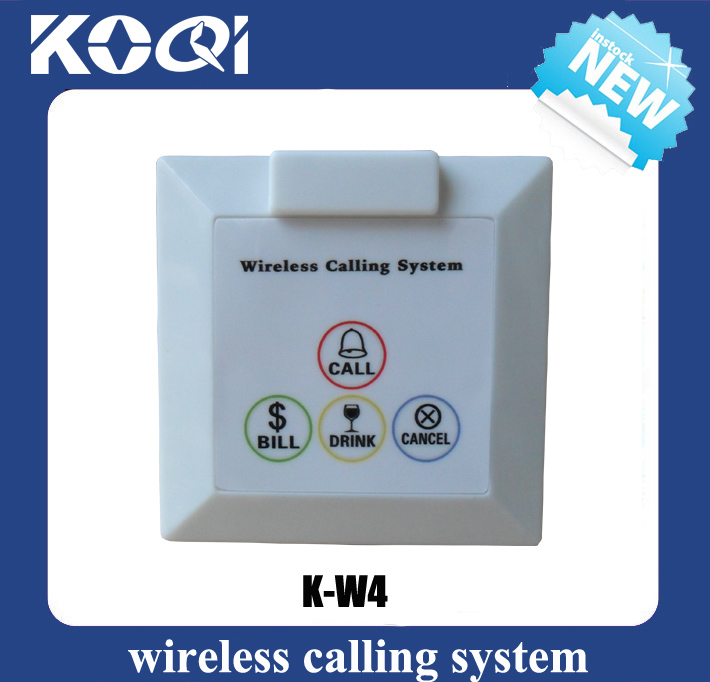 Wireless Calling System Call Button K-W4