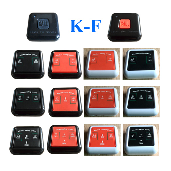 Wireless Calling System Call Button K-F
