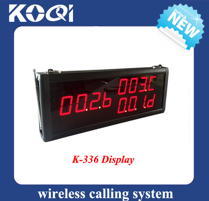 Wireless Calling System Display K-336