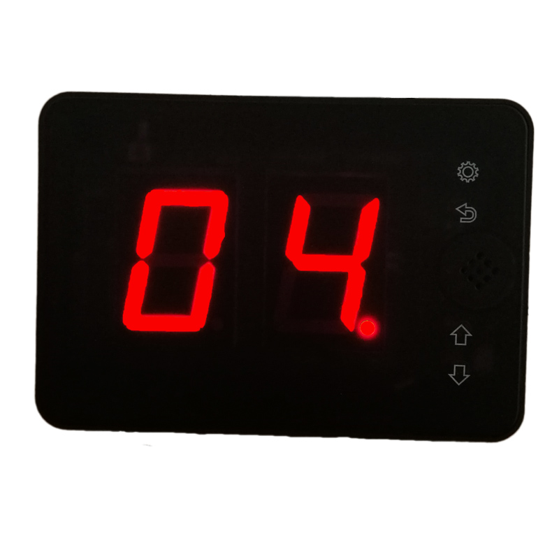 Wireless call system display