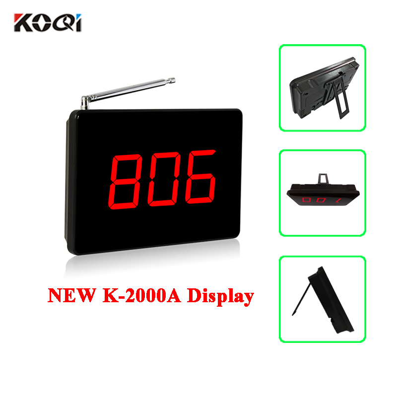 Wireless table bell display