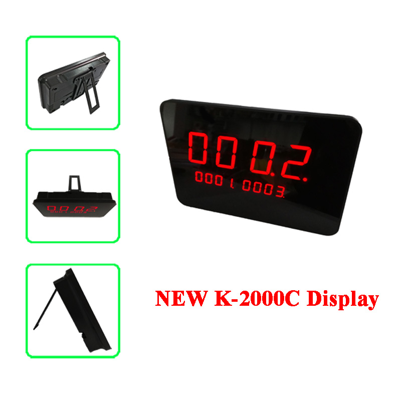Wireless call bell system display
