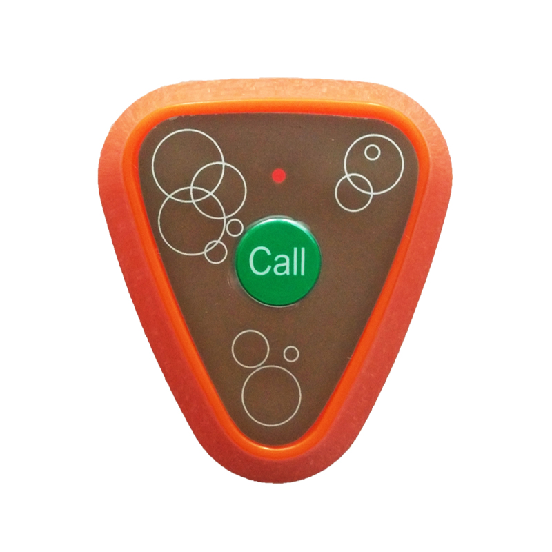 Wireless call panic button
