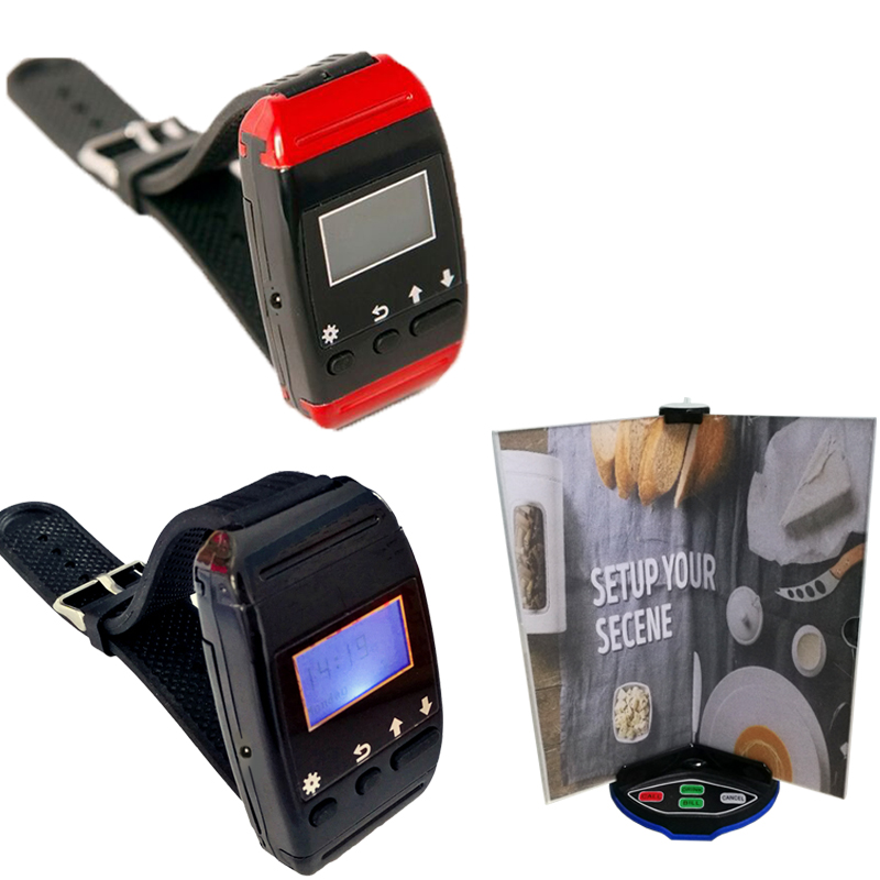 Restaurant Server Pager Wireless Calling System